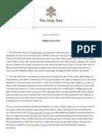 Pio XII Primo-feliciter