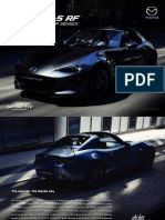 All New Mazda MX-5 RF Brochure