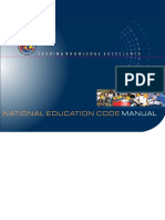 National Education Code Manual