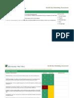 Demand Metric World Class Marketing Assessment
