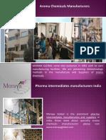 Pharma intermediates supplier India