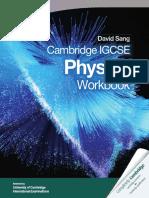 Cambridge Igcse Physics Workbook Cambridge Education Cambridge University Press Samples