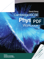 Cambridge Igcse Physics Workbook Cambridge Education Cambridge University Press Samples