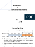 Microwave network