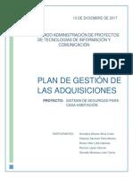 Plan Para La Gestión de Las Adquisiciones 13-12-17 Equipo 1