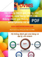 SKPI Hệ thống đánh giá đại lý, chi nhánh, cửa hàng SKPI ( hệ thống đánh giá thông minh trên smartphone và tablet)
