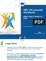 ISO 27000 Security Standards