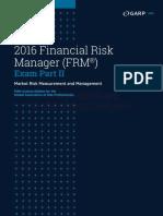 FRM 2015 Part II - Quick Sheet