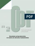 Novedades Jurisprudenciales en Materia de Derechos Fundamentales (Derecho Español)