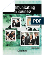 Preview of Communicating in Business