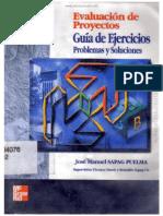 Evaluación de Proyectos - Guía de Ejercicios 2da Edicion Sapag Sin Contraseña