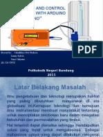 Monitoring Level Air Dgn Arduino Uno