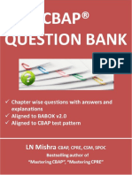 CBAP Question Bank v62 - Sample Chapter (1)