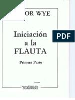 Trevor Wye.iniciacion a La Flauta.vol I