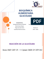 Debate - Glucólisis