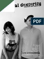 Manual Dexterity Music Zine Summer 2010