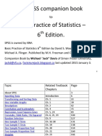 SPSS 19 Stat203 Guide