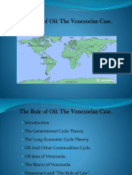 "Venezuela and ""The Rule of Oil"" vs ""The Rule of Law"""