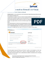 Internet Aula 01 - Enviar Email
