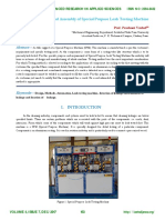 Design and Assembly of Special Purpose Leak Testing Machine