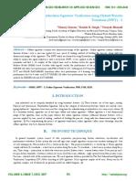 Handwritten Signature Verification using Hybrid Wavelet Transform (HWT) – 2