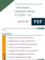 IDBI FY (2009-10)