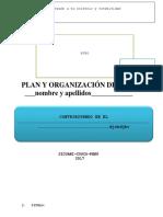 Plan y Organización de Vida