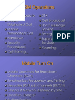 5GSM Operations