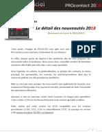 Logiciel CRM Procontact - Nouveautés 2018