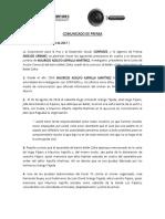 Comunicado de Prensa_corpades_análisis Urbano (1)