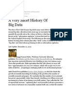 Gil Press Big Data History