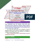 L1-Def. Infinite Series,Geometric Series Test