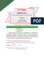 L2- Nth Term Test, Comparison Test, P-series Test