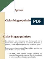 1 Los Ciclos Biogeoquímicos