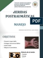 Plasticas - Manejo Heridas Postraumaticas