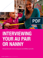 AuPair NannyInterviewingGuide