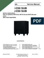 Hkts 200-230 Sub Hkts 210-230 Sub Service Manual