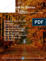 Jornal Da Mensa Abril 2016