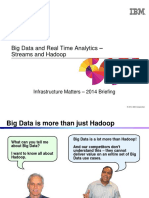 4.Big Data and Real Time Analytics - Streams and Hadoop