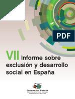 Foessa Vii Informe Exclusion y Desarrollo Social España 2014