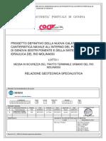 D 1 R003 B Relazione Geotecnica Specialistica