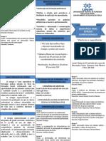 Folder Seminário Final Estágio