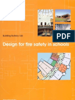 Designing for Fire Safety in Schools