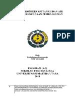 2014_Peranan Konservasi Tanah Dan Air_USU_MEDAN