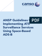 ANSP Guidelines for Implementing ATS Surveillance Services Using Space-Based ADS-B