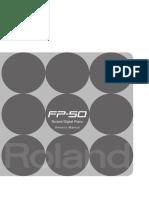 Manual RolandFP-50 e03 W