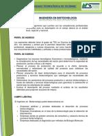 Plan y Programa de Estudio ING UTTEC