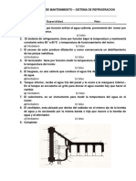 Evaluacion de Mantenimiento 6-9