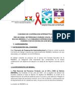Convenio de Cooperación Interinstitucional REDBOL-ICW Bolivia