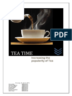 Tea Time Report Group8